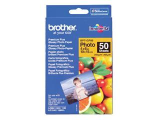 Fotopapier Brother BP-71 10x15cm 260gr glossy 50vel