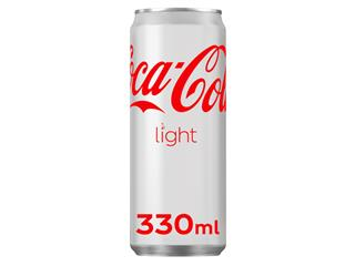 Frisdrank Coca Cola Light blikje 0.33l