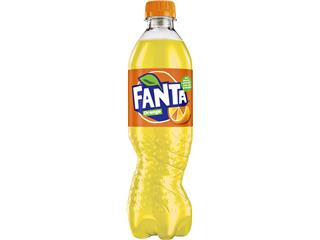 Frisdrank Fanta orange PET 0.50l