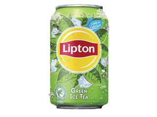 Frisdrank Lipton Ice Tea Green blikje 0.33l
