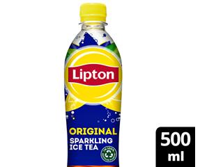 Frisdrank Lipton Ice tea sparkling fles 0.5l