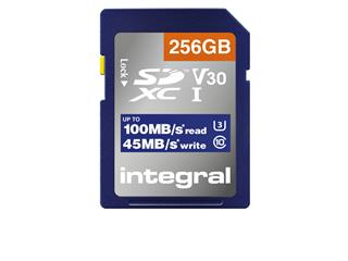 Geheugenkaart Integral SDHC-XC 256GB