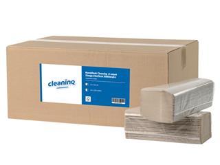 Handdoek Cleaninq Z-vouw 1laags 23x25cm 5000stuks