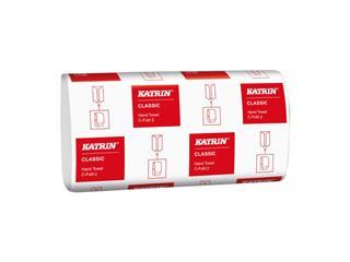 Handdoek Katrin 343275 C-Fold Classic 2lgs 33x24cm