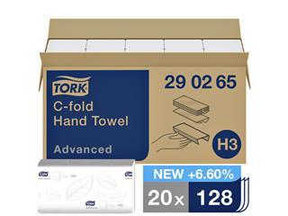 VULLING TORK H3 HANDDOEK C-FOLD 2LAAGS 20X128ST 290264