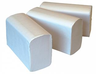 Handdoekvulling Cleaninq Z-vouw 2L voor H3 23x21.8cm 3750st.