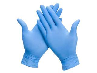 Handschoen Comfort nitril XL blauw 100 stuks