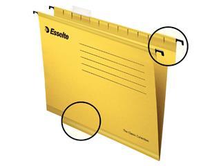 Hangmap Esselte Classic folio V-bodem geel
