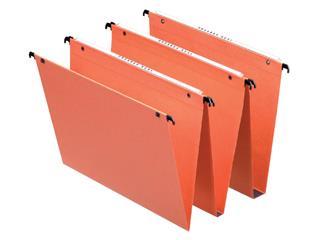 Hangmap Esselte Orgarex Dual verticaal 345x245x15mm oranje