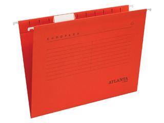 Hangmap Euroflex A4 V-bodem rood