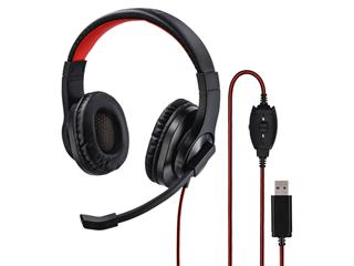 Hoofdtelefoon Hama HS-USB400 over-ear zwart