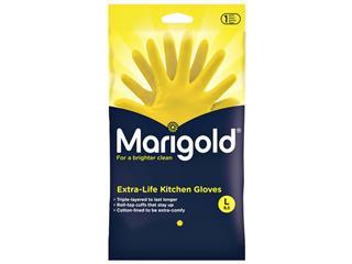 Huishoudhandschoen Marigold Kitchen geel large