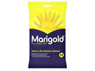 Huishoudhandschoen Marigold Kitchen geel medium