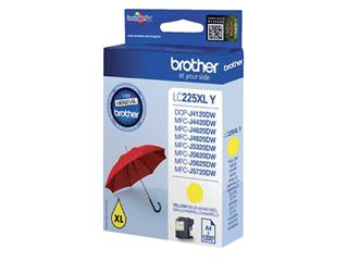 Inktcartridge Brother LC-225XLY geel HC