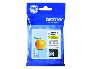 Inkcartridge Brother LC-3211 geel