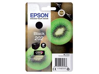 Inktcartridge Epson 202 T02E14 zwart