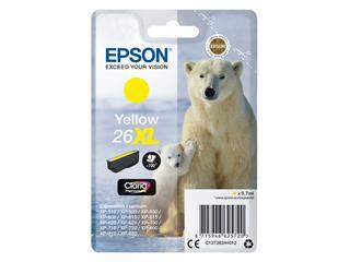 Inktcartridge Epson 26XL T2634 geel HC