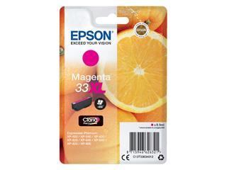 Inktcartridge Epson 33XL T3363 rood HC