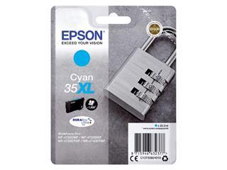 Inktcartridge Epson 35XL T3592 blauw HC