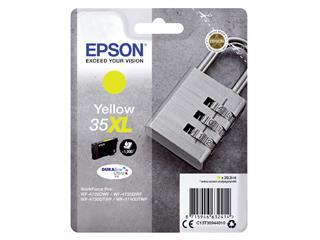 Inktcartridge Epson 35XL T3594 geel HC