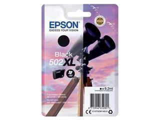 Inktcartridge Epson 502XL T02W1 zwart HC