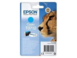Inktcartridge Epson T0712 blauw