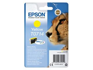 Inktcartridge Epson T0714 geel