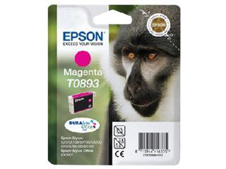 Inktcartridge Epson T0893 rood