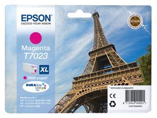 Inktcartridge Epson T7023 rood HC