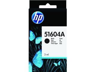 Inktcartridge HP 51604A zwart