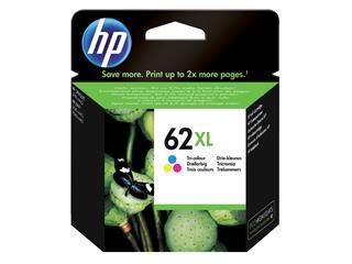 Inktcartridge HP C2P07AE 62XL kleur HC