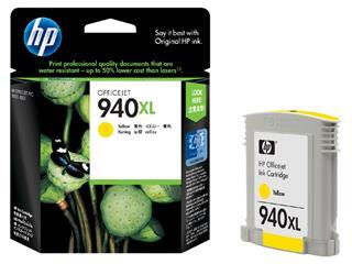 Inktcartridge HP C4909AE 940XL geel HC