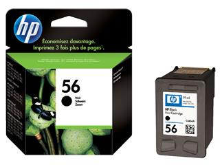 Inktcartridge HP C6656AE 56 zwart