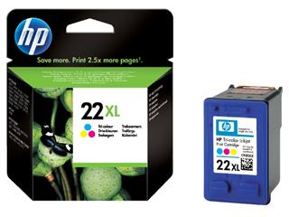 Inktcartridge HP C9352CE 22XL kleur HC
