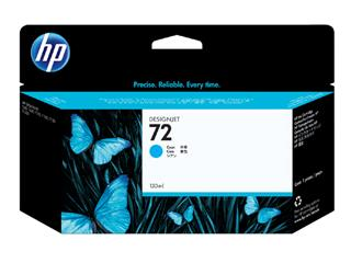 Inkcartridge HP C9371A 72 blauw