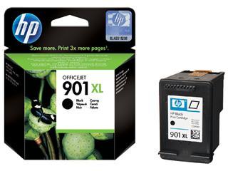 Inktcartridge HP CC654A 901XL zwart HC