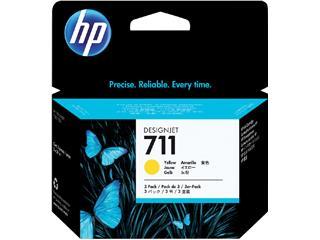 Inktcartridge HP CZ136A 711XL geel HC