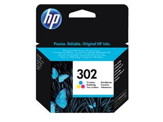 Inktcartridge HP F6U65AE 302 kleur