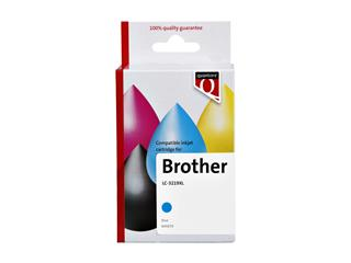 Inktcartridge Quantore Brother LC-3219XL blauw