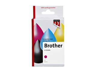 Inktcartridge Quantore Brother LC-3219XL rood