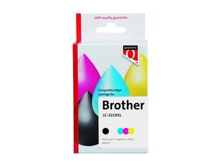 Inktcartridge Quantore Brother LC-3219XL zwart + 3 kleuren