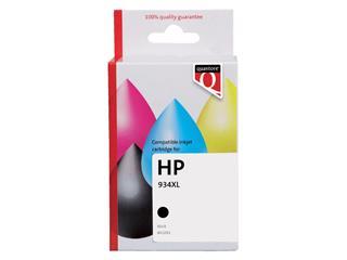 Inktcartridge Quantore HP C2P23AE 934XL zwart