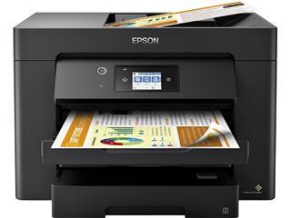 Inkjetmultifunctional Epson Workforce WF-7830 zwart