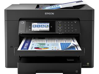Inkjetmultifunctional Epson Workforce WF-7840DTWF zwart