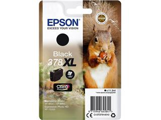 Inktcartridge Epson 378XL T3794 zwart