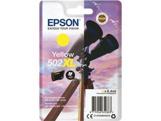 Inktcartridge Epson 502XL geel SEC