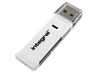 Kaartlezer Integral 2.0 USB-A SD-microSD