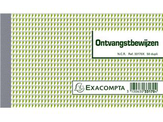 Kasboek Manifold ontvangstbewijs dupli 50vel