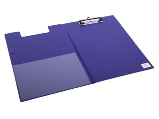 Klembordmap Quantore A4 blauw met 100mm klem + penlus