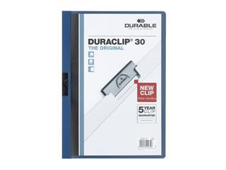 Klemmap Durable 2200 A4 3mm blauw